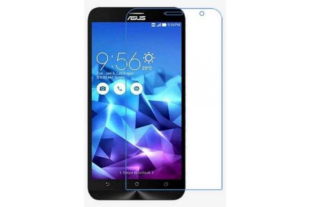 """Фирменная оригинальная защитная пленка для телефона ASUS Zenfone 2 Lazer ZE550KL 5.5""""  глянцевая"""