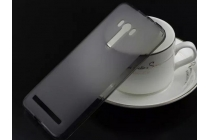"""Фирменная ультра-тонкая полимерная из мягкого качественного силикона задняя панель-чехол-накладка для ASUS Zenfone 2 Lazer ZE550KL 5.5"""" черная"""