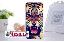 """Фирменная роскошная задняя панель-чехол-накладка с безумно красивым рисунком тигра на ASUS Zenfone 2 Lazer ZE550KL 5.5"""""""