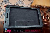Фирменный чехол-футляр-книжка для Asus Fonepad 7 FE171MG черный