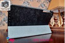Фирменный чехол обложка с подставкой для Asus Fonepad 7 FE171MG черный кожаный