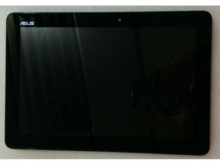 Фирменный LCD-ЖК-сенсорный дисплей-экран-стекло с тачскрином на планшет Asus Memo Pad 10 ME102A черный и инстр..