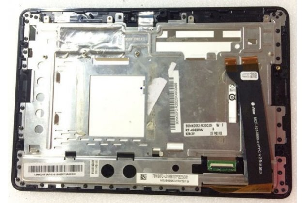 Фирменный LCD-ЖК-сенсорный дисплей-экран-стекло с тачскрином на планшет Asus Memo Pad 10 ME102A черный и инструменты для вскрытия + гарантия