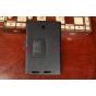 Фирменный чехол-обложка для Asus Memo Pad 8 ME180A черный кожаный..