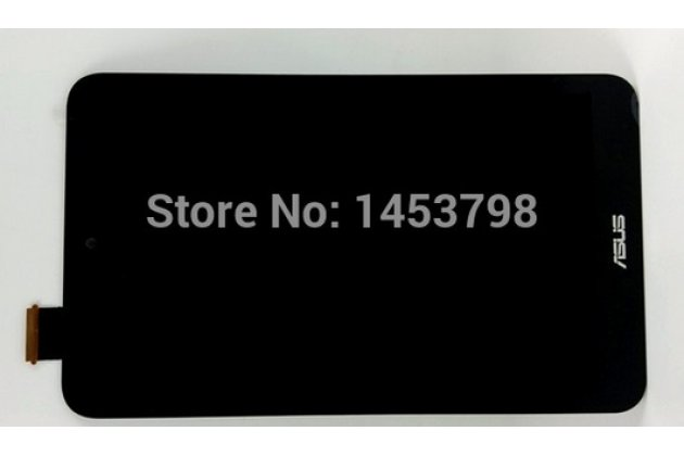 Фирменный LCD-ЖК-сенсорный дисплей-экран-стекло с тачскрином на планшета Asus Memo Pad 8 ME180A черный и инструменты для вскрытия + гарантия