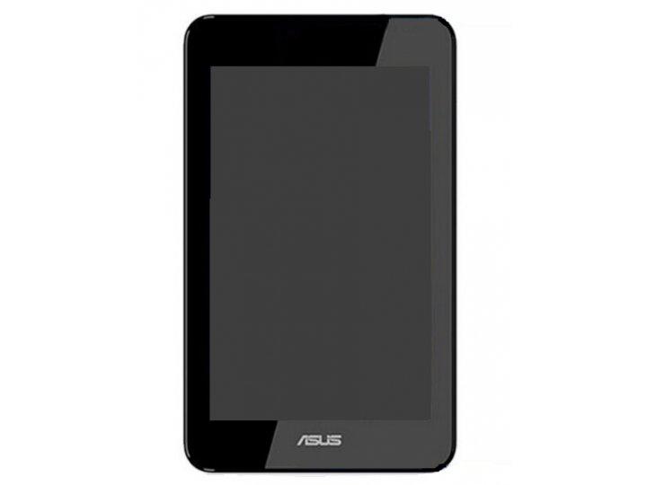 Фирменный LCD-ЖК-сенсорный дисплей-экран-стекло с тачскрином на планшет  Asus Padfone Mini 7 черный и инструме..