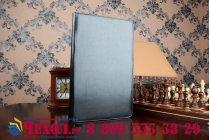 Чехол обложка для Asus Transformer Book T300 Chi черный кожаный