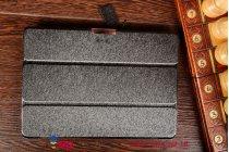 """Фирменный умный чехол самый тонкий в мире для Asus Transformer Pad TF103CG """"Il Sottile черный пластиковый"""
