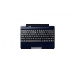 Фирменная оригинальная съемная клавиатура/док-станция для планшета Asus Transformer Pad TF300/TF300TG/TF300TL (90-OK0GDK100A0W) синего цвета + гарантия