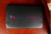 Фирменный чехол для Asus VivoTab Note 8 M80TA B04G поворотный роторный оборотный черный кожаный