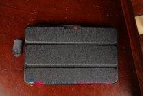 """Фирменный умный чехол самый тонкий в мире для Asus VivoTab Note 8 M80TA """"Il Sottile"""" черный пластиковый Италия"""