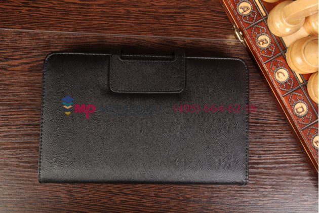 Фирменный оригинальный чехол со съёмной Bluetooth-клавиатурой для Asus VivoTab Note 8 M80TA черный кожаный + гарантия