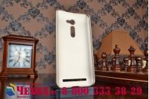"""Фирменная задняя панель-крышка-накладка из тончайшего и прочного пластика для Asus Zenfone 2 5.0"""" ZE500CL золотая"""