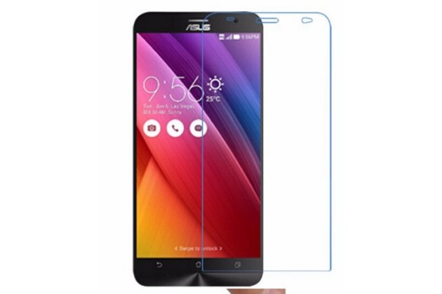"""Фирменная оригинальная защитная пленка для телефона Asus Zenfone 2 5.0"""" ZE500CL глянцевая"""