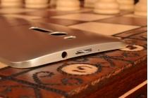 Родная оригинальная задняя крышка-панель которая шла в комплекте для ASUS Zenfone 2 ZE550ML / ZE551ML 5.5 золотая