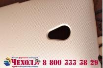 Фирменная задняя панель-крышка-накладка из тончайшего и прочного пластика для Asus Zenfone 5 A502CG золотая