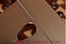 Фирменная металлическая задняя панель-крышка-накладка из тончайшего облегченного авиационного алюминия для Asus Zenfone 5 A502CG золотая