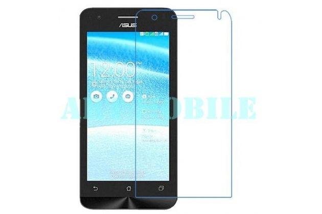 Фирменная оригинальная защитная пленка для телефона Asus Zenfone C ZC451CG глянцевая