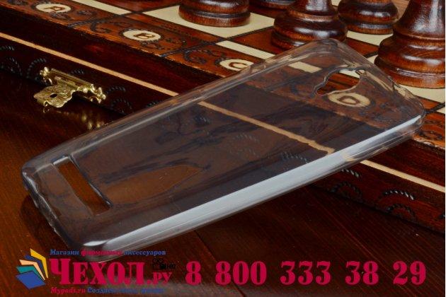 Фирменная ультра-тонкая пластиковая задняя панель-чехол-накладка для Asus Zenfone C ZC451CG прозрачная