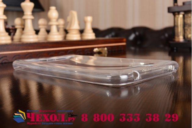 """Фирменная ультра-тонкая полимерная из мягкого качественного силикона задняя панель-чехол-накладка для ASUS ZenFone Go ZB690KG 6.9"""" прозрачная"""