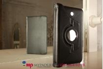 Чехол для Asus Fonepad 7 FE375CXG  model K019 поворотный роторный оборотный черный кожаный