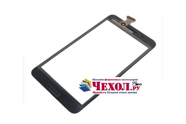 Фирменный сенсорный дисплей-стекло с тачскрином на планшет Asus Fonepad 7 FE375CXG черный и инструменты для вскрытия + гарантия
