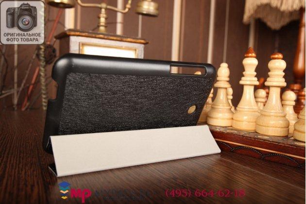 """Фирменный умный чехол самый тонкий в мире для Asus Fonepad 7 FE375CXG K019 """"Il Sottile черный пластиковый"""
