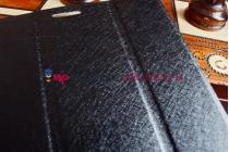 Ультратонкий фирменный чехол обложка для Asus Fonepad 8 FE380CG model K016 черный пластиковый