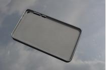 """Фирменная ультра-тонкая полимерная из мягкого качественного силикона задняя панель-чехол-накладка для Asus Fonepad 8 FE380CG/FE380CXG (K016)"""" черная"""