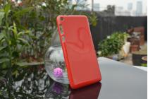 """Фирменная ультра-тонкая полимерная из мягкого качественного силикона задняя панель-чехол-накладка для Asus Fonepad 8 FE380CG/FE380CXG (K016)"""" красная"""