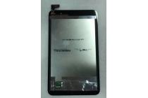 Фирменный LCD-ЖК-сенсорный дисплей-экран-стекло с тачскрином на планшет Asus Memo Pad 7 HD ME176CX черный и инструменты для вскрытия + гарантия