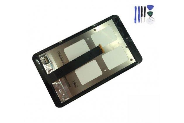 Фирменный LCD-ЖК-сенсорный дисплей-экран-стекло с тачскрином на планшет Asus Memo Pad 8 ME181C/ME181CX черный и инструменты для вскрытия + гарантия