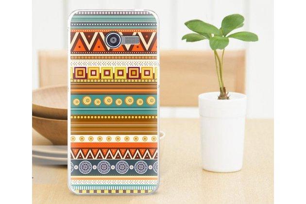 """Фирменная роскошная задняя панель-чехол-накладка с безумно красивым расписным эклектичным узором на Asus Zenfone 4 4.0"""" A400CG"""