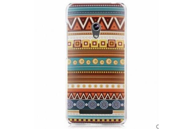 Фирменная роскошная задняя панель-чехол-накладка с безумно красивым расписным эклектичным узором на ASUS Zenfone 4 4.5 A450CG