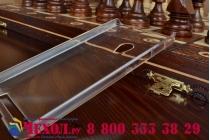 Фирменная ультра-тонкая пластиковая задняя панель-чехол-накладка для ASUS Zenfone 4 4.5 A450CG прозрачная