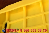 """Фирменная задняя панель-чехол-накладка с объёмным 3D изображением для ASUS Zenfone 5 A501CG/A500KL """"тематика веселый Миньон"""" желтая"""