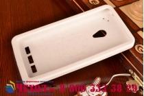 """Фирменная необычная уникальная полимерная мягкая задняя панель-чехол-накладка для ASUS Zenfone 5 / Zenfone 5 LTE A501CG/A500KL """"тематика Андроид в Белом Шоколаде"""""""