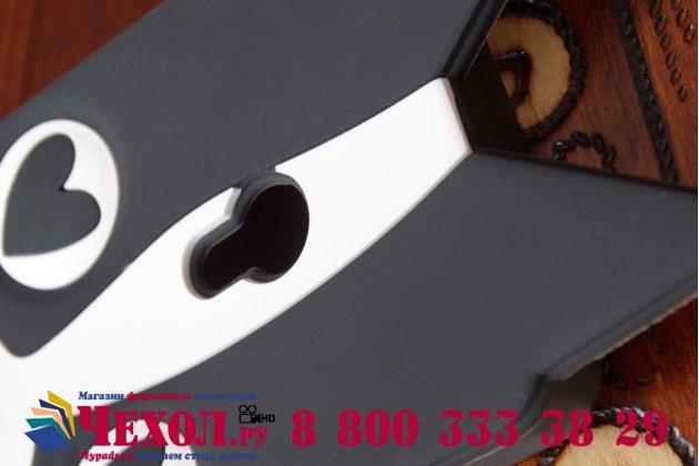 """Фирменная задняя панель-чехол-накладка с объёмным 3D изображением для ASUS Zenfone 5 / Zenfone 5 LTE A501CG/A500KL """"тематика черно-белая Собака"""""""