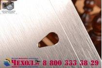 Фирменная металлическая задняя панель-крышка-накладка из тончайшего облегченного авиационного алюминия для ASUS Zenfone 6 A600CG/A601CG серебристая