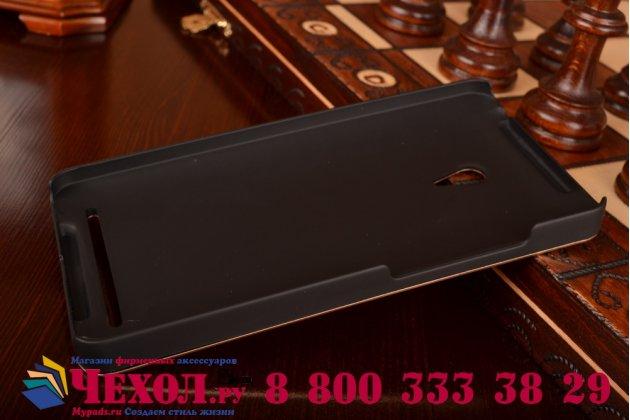 Фирменная металлическая задняя панель-крышка-накладка из тончайшего облегченного авиационного алюминия для ASUS Zenfone 6 A600CG/A601CG золотая