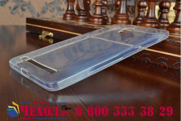 Фирменная ультра-тонкая полимерная из мягкого качественного силикона задняя панель-чехол-накладка для ASUS Zenfone 6 A600CG/A601CG белая