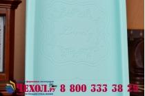 """Фирменная необычная уникальная полимерная мягкая задняя панель-чехол-накладка для ASUS Zenfone 6 A600CG/A601CG """"тематика Андроид в мятном шоколаде"""""""