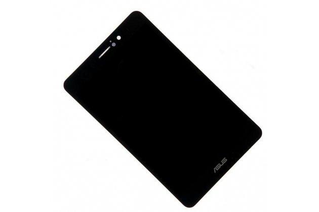Фирменный LCD-ЖК-сенсорный дисплей-экран-стекло с тачскрином на планшета Asus FonePad ME371MG черный и инструменты для вскрытия + гарантия