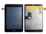 Фирменный LCD-ЖК-сенсорный дисплей-экран-стекло с тачскрином на планшет Asus MeMO Pad HD 7 ME173MG/ME173X черн..