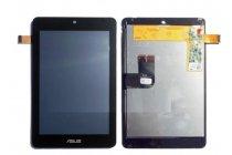 Фирменный LCD-ЖК-сенсорный дисплей-экран-стекло с тачскрином на планшет Asus MeMO Pad HD 7 ME173MG/ME173X черный и инструменты для вскрытия + гарантия