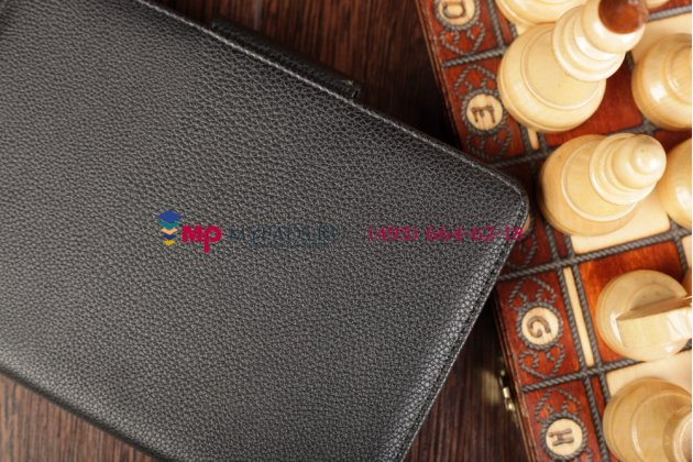 Фирменный чехол со съёмной Bluetooth клавиатурой для Asus Google Nexus 7 1-го поколения 2012 черный кожаный + гарантия
