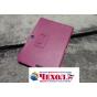 Фирменный чехол для Asus Transformer Pad Infinity TF700T/TF700KL розовый кожаный..