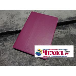 Фирменный чехол для Asus Transformer Pad Infinity TF700T/TF700KL розовый кожаный