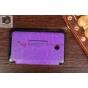 Фирменный чехол открытого типа без рамки окантовки для Asus Fonepad 7 ME175CG Dual Sim model K00Z фиолетовый..