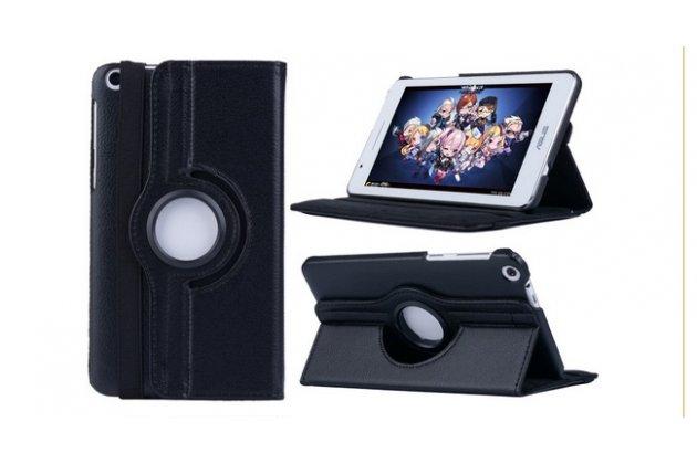 Чехол для планшета Asus Fonepad 7 FE171MG model K01F поворотный роторный оборотный черный кожаный